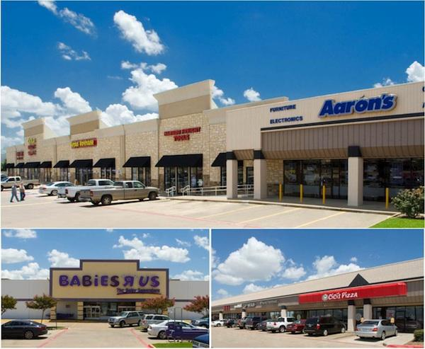 Independence Plaza Shopping Center is a 170,342-square-foot retail center in Mesquite.