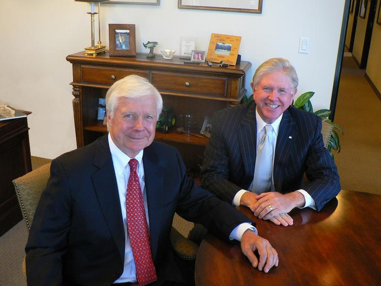 Bill Knopick and Greg Trout of Henry S. Miller Brokerage in Dallas