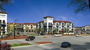 Work on the Flower Mound project, shown in a rendering, could begin next year.