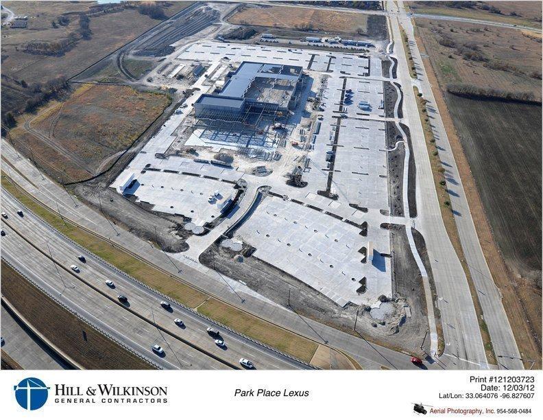 Park Place Lexus >> Park Place Lexus Massive Plano Dealership On Track For