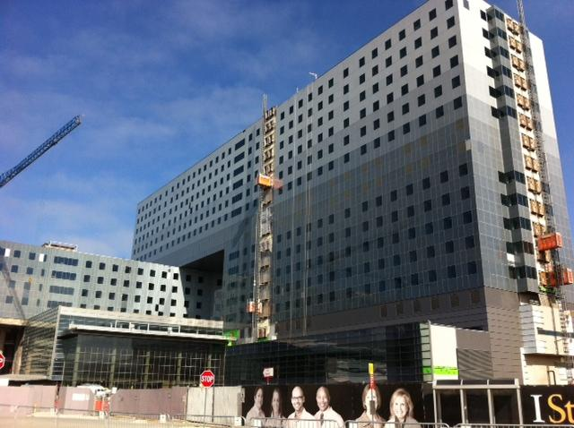 Parkland Hospital is built to take a beating, its construction team says.