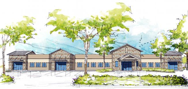 A rendering of the 16,600-square-foot Texas Health Presbyterian Hospital Rockwall.