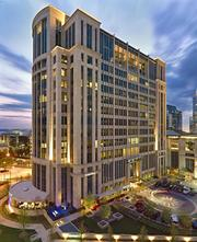 Rosewood Court in Uptown Dallas is one of North Texas' office towers  nominated to the International TOBY awards in California.