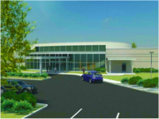 A rendering of the surgical hospital that Wise Regional plans to break ground on Friday.