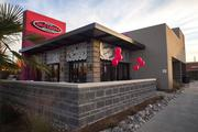 The newest Taco Cabana location in Frisco.
