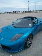 Behind the wheel of the rare, expensive and fast Tesla Roadster