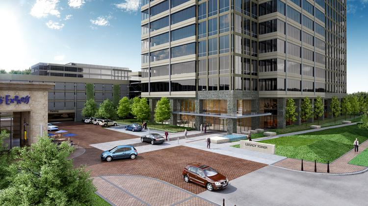 Trammell Crow has gotten started on its West Plano office complex project.