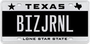 Seven-letter license plates are on sale through Tuesday.