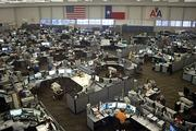 The Systems Operations Center at American Airlines is the operational heart of the airline, particularly during bad weather or other problems that might delay or ground flights.