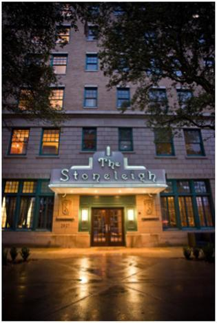 The Luxe Stoneleigh Hotel in Uptown has been sold.