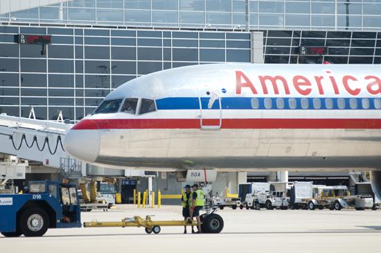 Passenger service agents for American Airlines have rejected union representation.