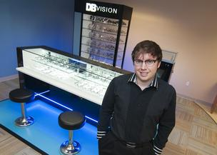Eyemart express: As COO and CTO, Doug Barnes Jr. is infusing his family's eyewear business with new technology. He created a new business, DB Vision, which operates kiosks that sell prescription glasses.