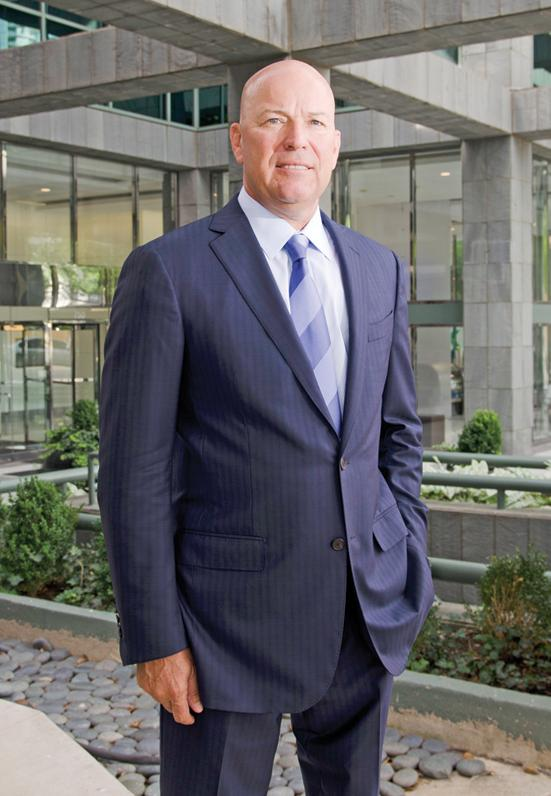 Dickie Heathcott is the managing partner at Crowe Horwath's downtown Dallas office.