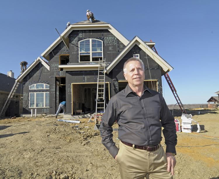NEEDING MORE ROOM TO GROW: 'Without new (home) lots being developed, all the builders seem to be contracting for the existing lots on the ground and those markets have gotten tight,' says Larry Craven of LionsGate Homes, which has seen demand throughout its projects in Dallas-Fort Worth.