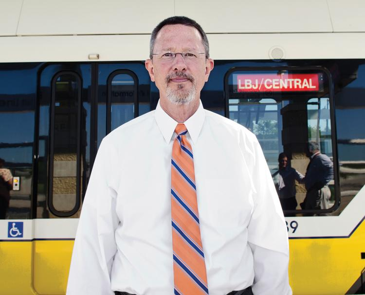 As DART's top executive, Gary Thomas commands 