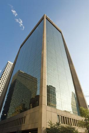 KPMG Centre in downtown Dallas was sold at the June foreclosure for $42 million to its lender.