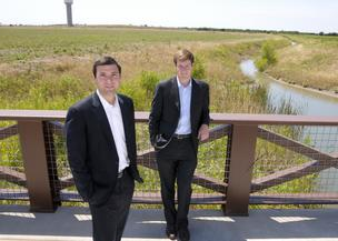 It doesn't look like much now, but Tony Ruggeri and Jake Wagner of Republic Property Group aim to transform 806 acres in Celina, north of Frisco, into a $1.2 billion master-planned community with 2,700 homes in the next decade.