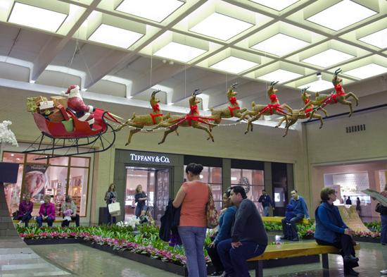 NorthPark Center owner Nancy Nasher is excited about the yeat the center has had and its prospects for the holiday season.