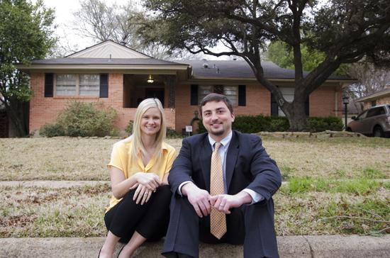 Holly Aldredge and her husband, Parker, bought their first home last fall in Dallas. They were enticed into the marketplace by low interest rates and motivated by rising costs.