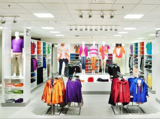 "J.C. Penney is converting its stores to a ""shops"" approach with wide isles."