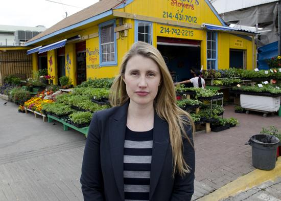 Tanya Ragan, above, has owned vacant property in the Farmers Market since 2007. She hopes a new deal with the city will bring opportunities for investors.