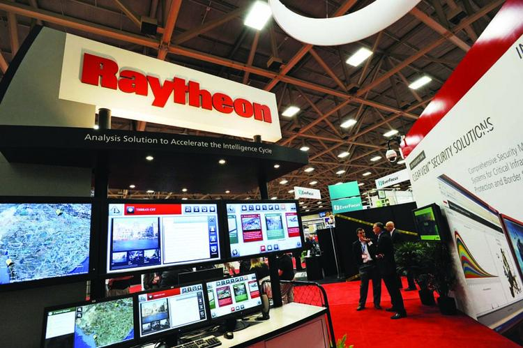 In 2010, Raytheon launched its commercial defense business. Its booth at the ASIS International conference in Dallas is pictured above. Since then, its North Texas employee count has declined.
