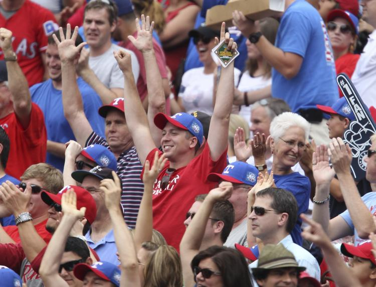 The Texas Rangers plans to limit its club-owned lots to ticket holders for its home opener.