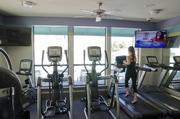 The Vue's onsite fitness facility.