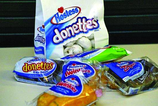 "Hostess said it will file ""stalking horse"" bids for its brands in January."