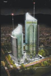 Humphreys & Partners designed two office towers in Islamabad, Pakistan.
