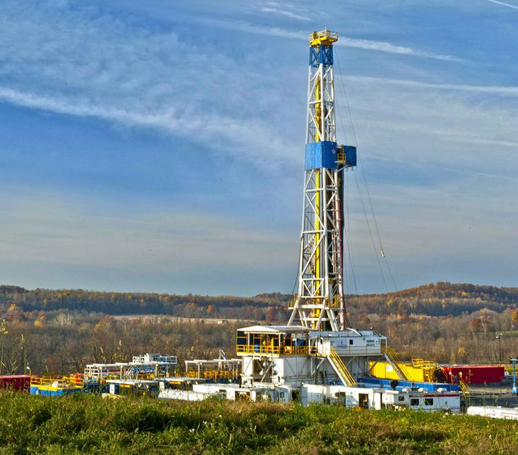 Chesapeake Energy Corp. is running 12 drilling rigs in the Utica Shale. It plans to reduce its rig count in the Barnett from four to two.