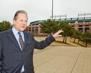 An eye on events: The World Series at Rangers Ballpark in Arlington has Mayor Robert Cluck eyeing the potential of a nearby hotel, and hosting more events.