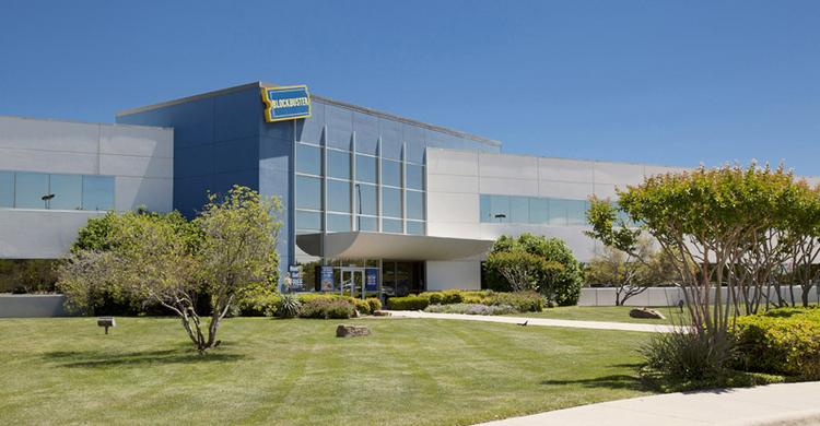 Blockbuster's one-time headquarters