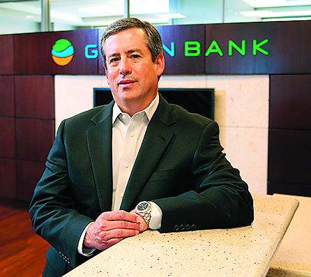 SEEING OPPORTUNITY: J. Bart Bearden of Green Bank NA is offering a check product for businesses made possible by the Dodd-Frank banking legislation, with a goal of picking up smaller clients from larger institutions. The legislation, signed last year, required regulators to make hundreds of new rules for banks.
