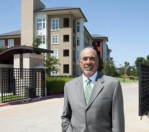 Taking care: Michael Ellentuck of Legacy Senior Comunities Inc. is moving next into home care.