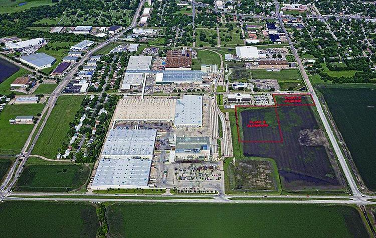 ROOM TO GROW: Encore Wire has about 850 workers on its 192-acre corporate headquarters campus. The company doubled its campus with a 201-acre land grab.
