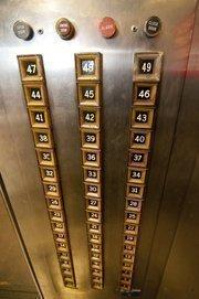 1401 Elm Street is 52 stories tall.