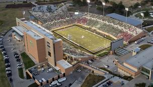 The University of North Texas recently built Apogee Stadium.