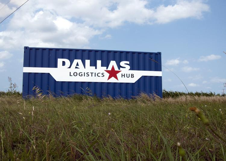 Up for grabs: The Allen Group invested about $500 million — including $113 million of public monies — in land and properties surrounding the Dallas Logistics Hub in South Dallas, before filing bankruptcy last year. Allen's reorganization plan to pay back creditors starts with the sale of 827,890 square feet.