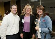 Adam Robinson, Belinda Deane and Deborah Carroll