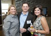 Kim and Jim Winblood along with Hayley Donald at the DBJ's After Hours event.