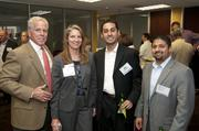 Kurt Vandermotter, Jana Rouble, Raj Chhasua and Amish Patel