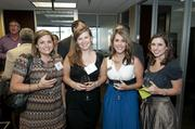 Lori McCormick, Lauren Kwedar, Courtney Summers and Carissa Cotner at the DBJ After Hours event.
