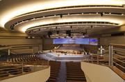 "The magnificent new First Baptist Dallas is a $130 million ""re-creation"" of the church."