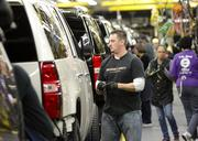 The plant, which sits on 250 acres, is dedicated to making GM SUVs, including the Cadillac Escalade.