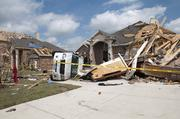 A tornado tore through Forney in North Texas April 3 doing extensive damage.
