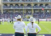 TCU pride was on display during the game Saturday against the University of Oklahoma at Amon G. Carter Stadium in Fort Worth.