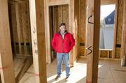 Todd James, owner of Todd James Homes, said the Park Cities market has gone back to its height of 2008. James' custom home on Centenary Avenue in University Park is being framed.