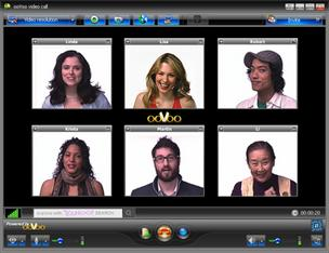 Video chat service ooVoo will push to be widely available for the new BlackBerry 10 coming later this week, according to CNET.com.