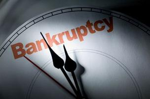 Wake bankruptcy filings were down slightly last month.